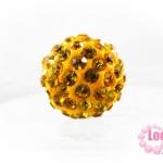 บอลเพชร เกรดดี 10 มิล สีเหลือง