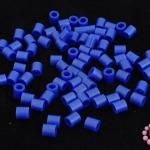เม็ดบีทรีดร้อน สีน้ำเงินออกม่วง 5 มิล (1ขีด/1,820ชิ้น)