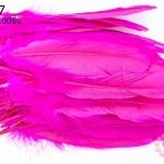 ขนนก(ก้าน) สีบานเย็น 100ชิ้น