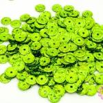 เลื่อมปัก กลม สีเขียวอ่อนดิสโก้ 8มิล(5กรัม)