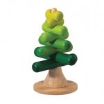 ของเล่นไม้ ของเล่นเด็ก ของเล่นเสริมพัฒนาการ Stacking Tree แกนต่อรูปต้นไม้ (ส่งฟรี)