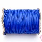 เชือกค๊อตต้อนเคลือบ สีน้ำเงิน 1.0มิล(1ม้วน)(100หลา)