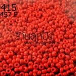 ลูกปัด Miyuki สีแดงสด รหัส457F (1ถุง/100กรัม)