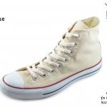 รองเท้าผ้าใบ Converse All Star hi natural (รุ่นคลาสสิค)