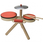 ของเล่นไม้ ของเล่นเด็ก ของเล่นเสริมพัฒนาการ Musical Band กลองชุดสุดหรรษา (ส่งฟรี)