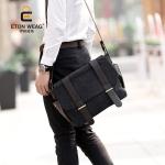 กระเป๋าผู้ชายพร้อมส่ง รหัส RM2642L สีดำ ใบใหญ่ ใส่ notebook ได้