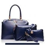 กระเป๋าแฟชั่น Berry Bag พร้อมส่ง รหัส SUB8846BL เซต 3 ใบ สุดคุ้ม