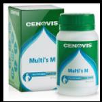 Cenovis Multi s M 60 แคปซูล วิตามินรวมสำหรับผู้ชาย ผลิตที่ประเทศออสเตรเลีย
