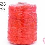 เชือกเทียน ตราLookpudshop(ม้วนใหญ่) สีแดง เบอร์ 2 #906 (1ม้วน)