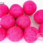 ลูกบอล Feit 25มิล #1 สีบานเย็น (5ลูก)