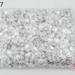 ตะขอสร้อยแบบกระดุม 9x14 มิล สีเงิน (1,000 ชิ้น)