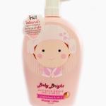 โลชั่นอาบน้ำ Baby bright glutathione vit c shower lotion 750ml