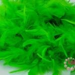 ขนนกเฟอร์ สีเขียว