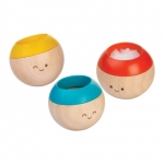 ของเล่นไม้ ของเล่นเด็ก ของเล่นเสริมพัฒนาการ Sensory Tumbling สามสีสัมผัส (ส่งฟรี)
