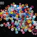 คริสตัลสวารอฟสกี้ (SWAROVSKI) คละสี 3มิล(100เม็ด)