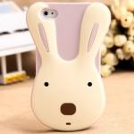 Rabbit Silicone Case_Purple