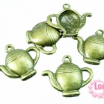 จี้กาน้ำชา โลหะ