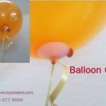 คลิปพลาสติกกลม แบบดึงเข้าด้วยริบบิ้น แพ็ค 20 ชิ้น - Plastic Balloon Clip pull with ribbon type 20 pieces