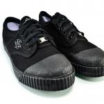 รองเท้าผ้าใบ Breaker เบรคเกอร์ สีดำ เบอร์ 37-42