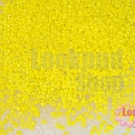 ลูกปัด Miyuki สีเหลืองหลือบรุ้ง 2มิล(10กรัม)