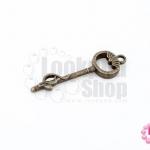 จี้ทองเหลือง กุญแจ 11X35มิล(1ชิ้น)