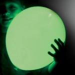 ลูกโป่ง LED สีเขียว แพ็ค 5 ชิ้น ไฟสว่างเหมือนโคมไฟ (LED Light Green Balloon - LED Fixed Mode)