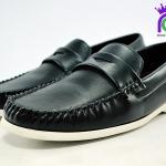 รองเท้าคัทชูชาย หนัง แฟชัน Fashion รุ่น MM818 สีดำ เบอร์ 40-44