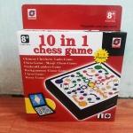 10IN1-รวมเกมกระดานยอดฮิต (สินค้ามาใหม่) ส่งฟรีแบบพัสดุธรรมดา