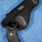 ซองปืนสำหรับปืน .357 Magnum สีดำ