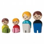 ของเล่นไม้ ของเล่นเด็ก ของเล่นเสริมพัฒนาการ Family-European ชุดครอบครัวยุโรป (ส่งฟรี)