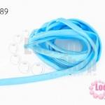 เชือกผ้า ไส้ไก่ สีฟ้าอ่อน (1เส้น/2เมตร)