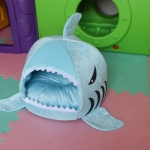 Saleที่นอนปลาฉลามฟ้าไซด์ M ไม่มีเบาะด้านใน