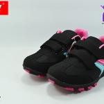 รองเท้าผ้าใบหญิง Baoji บาโอจิ รุ่น DS731 สีดำชมพู เบอร์37-41