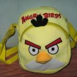 กระเป๋าสะพายข้าง angry bird สีเหลือง