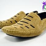 รองเท้าคัทชูชาย หนัง บินซิน BINSIN รุ่น M5053 สีน้ำตาล เบอร์ 41-45