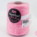เชือกเทียน ตราLookpudshop(ม้วนใหญ่) สีชมพู เบอร์ 2 #933 (1ม้วน)