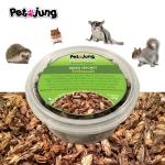 PetsJunG - Dried Crickets จิ้งหรีดอบแห้ง (20g.)