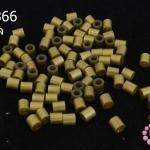 เม็ดบีทรีดร้อน สีทอง 5 มิล (1ขีด/100กรัม)