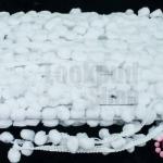 ปอมเส้นยาว สีขาว กว้าง 2ซม(1หลา/90ซม)