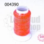 เชือกเทียน ตราลูกบอล(ม้วนเล็ก) สีส้มสะท้อนแสง (1ม้วน)