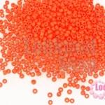 ลูกปัด Miyuki สีแดงด้าน #407 2มิล(10กรัม)