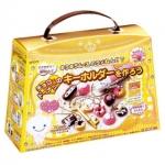 Kutsuwa Glitter Mousse Clay : ชุดทำพวงกุญแจ ช็อคโกแลตและโดนัท !!!ทานไม่ได้!!!