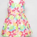 เสื้อผ้าเด็ก ชุดเดรส ชุดกระโปรงสำหรับเด็กผู้หญิง Tropical Paradise (ส่งฟรี)
