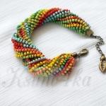 DiY Idea : ฝึกมือทำของสวยรวยสีสันกับสร้อยข้อมือสไตล์ชนเผ่า Ethno Bracelet