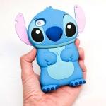 ** หมดค่ะ ** เคส iPhone 4/4S ลายสติช 3D สีฟ้า