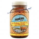นมผึ้งผสมเกสรผึ้งและพรอพอลิส MONTANA BIG SKY ขนาด 90 แคปซูล