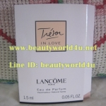 น้ำหอม vial Lancome tresor in love 1.5 ml.