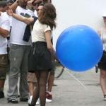 """ลูกโป่งจัมโบ้ สีน้ำเงิน ขนาด 24 นิ้ว - Round Jumbo Balloon Blue 24"""""""