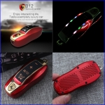 Ferrari ลำโพงไร้สาย เสียงดังคมชัด 5 in 1 Mini car model wireless Bluetooth speaker, selfie shutter, cellphone