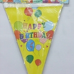 ธงประดับงาน Happy Birthday / Item No. TL-S006